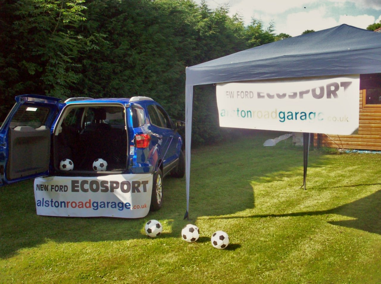 Getting ready for our Ecosport Event!